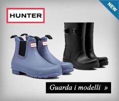 Nuova collezione stivali Hunter 2015/16