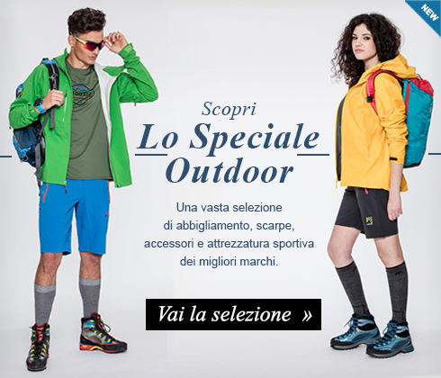 Scopri da Maxi Sport lo Speciale Outdoor