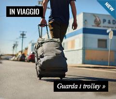 Speciale Viaggio: Collezione Trolley Eastpak e Burton