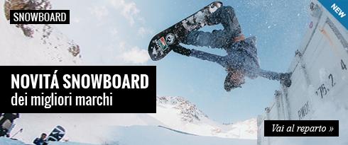Novità Snowboard dei migliori marchi