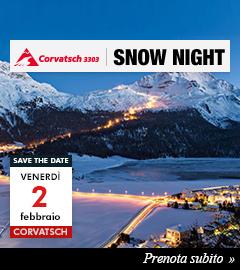 Corvatsch Snow Night 2 febbraio 2018