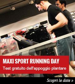 Running Day Maxi Sport - test appoggio plantare gratuito