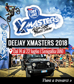 DEEJAY Xmaster a Senigallia dal 14 al 22 luglio
