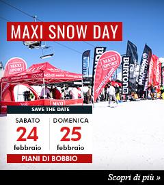 Maxi Snow Day: test gratuiti sci e snowboard