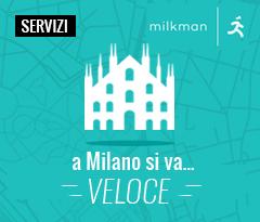 Consegna in giornata su Milano, come vuoi tu quando vuoi tu.