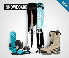 Novità Snowboard, tavole attacchi scarponi e abbigliamento