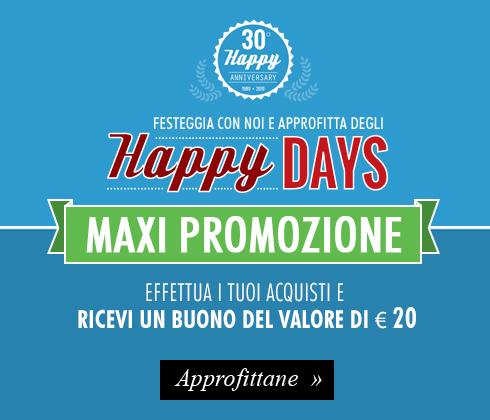 Festeggia insieme a noi i 30 anni di Maxi Sport e approfitta di 30 giorni di Maxi promozioni imperdibili!