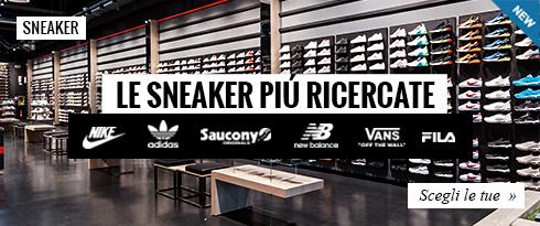 Le sneaker più ricercate dei migliori Brand