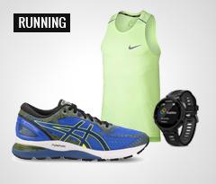 Maxi Saldi Running: scarpe, abbigliamento e accessori