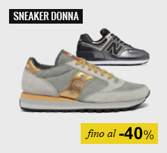 Sneaker donna