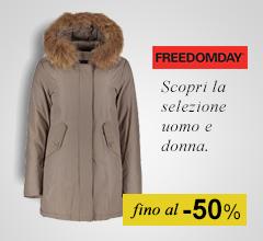 Maxi Saldi giacconi Freedomday