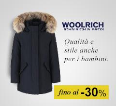 Maxi Saldi giacconi Woolrich