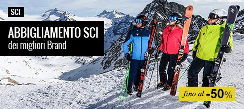 Maxi Saldi abbigliamento sci