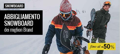 Maxi Saldi abbigliamento snowboard
