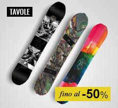 Maxi Saldi tavole snowboard