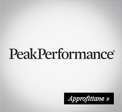 extra sconto -20% peak performance