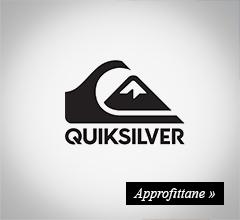 extra sconto -20% quiksilver
