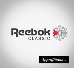 extra sconto -20% reebok classic