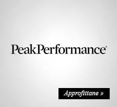 Extra Sconto -20% su peak-performance