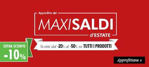 Approfitta dell'Extra Sconto -10% sui prodotti in promozione fino al -50%