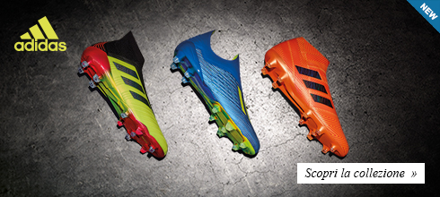 Nuova collezione scarpe calcio adidas Mondiali 2018
