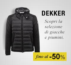 Maxi Saldi giacconi Dekker