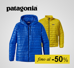 Maxi Saldi abbigliamento Patagonia