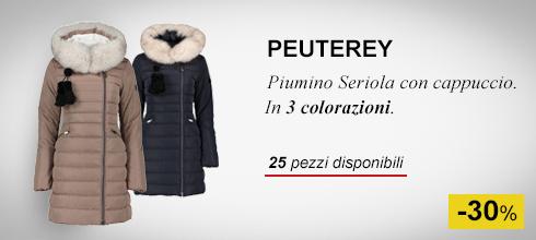 Piumino Seriola con cappuccio Peuteray donna