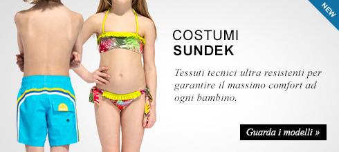 Costumi bambino Sundek