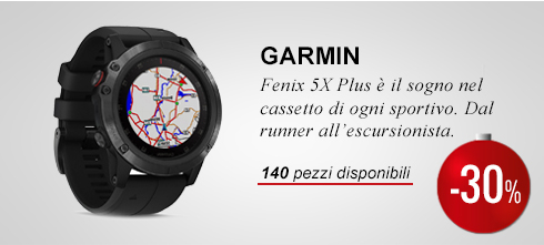 Garmin Fenix 5X Plus -20%