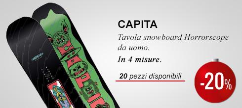 Tavola snowboard Capita Horrorscope -20%