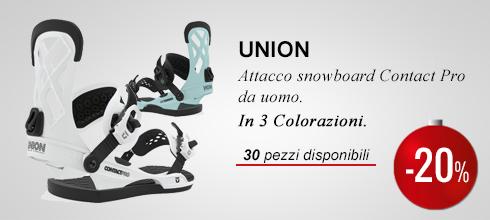Attacco snowboard Union Contact Pro -20%