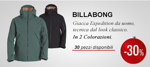 Giacca Billabong Expedition -30%