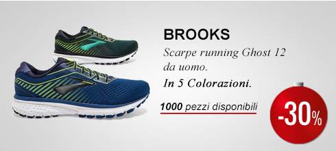 Brooks Ghost -40%