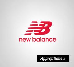 new balance extra sconto -10%