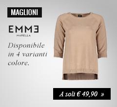 Maglione girocollo Emme Marella a soli €49,90