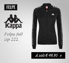 Felpa Kappa a soli €65,00