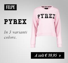 Felpa Logo Pyrex a soli €39,95