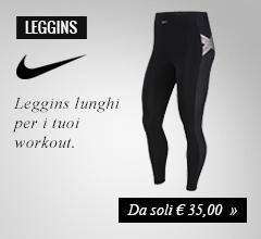 Leggins Nike da soli €35,00