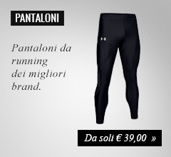 Pantaloni lunghi running