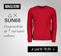 Maglione sun68 girocollo a soli €79,95