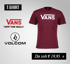 T-shirt Vans e Volcom