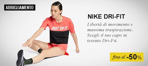 Abbigliamento Dri Fit Nike donna