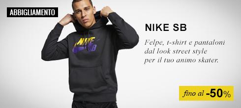 Abbigliamento Nike SB fino al -50%