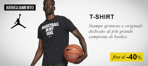 Abbiglimento Nike Jordan T-shirt fino al -50%