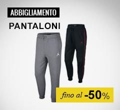 Abbigliamento Nike pantaloni fino al-50%