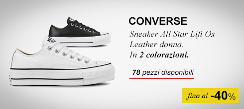 Sneaker conversefino al  -40%