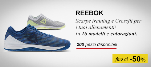 Scarpe training Reebok -50%