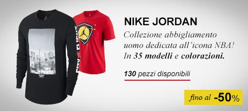 Abbigliamento Nike Jordan fino al -50%
