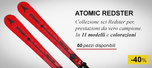 Collezione sci atomic redster -40%